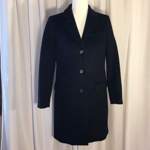 NWOT J. Crew Wool Peacoat by Nello Gori